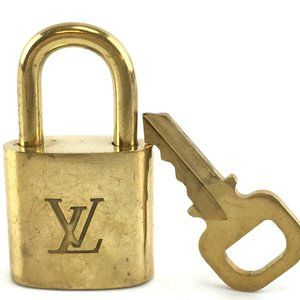 Louis Vuitton Gold Keepall Speedy Lock Key Set#303